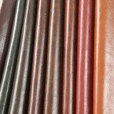 2016 couro de imitação do plutônio do PVC da alta qualidade R64 para a mobília das bolsas