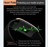 人間の特徴をもつSmartphones -黒のためのBluetoothのスマートな腕時計