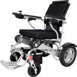 Sedia a rotelle elettrica pieghevole e portatile