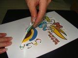 Papel de transferencia de impresora inyección de tinta,para la tela color oscura