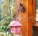 多彩な庭の金属の鳥のクラフト