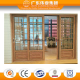 Openslaand raam van uitstekende kwaliteit van het Aluminium van het Venster van het Aluminium het Euro Populaire