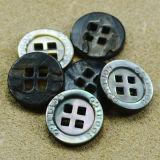 Черным малым круглым выгравированные способом кнопки раковины для рубашек
