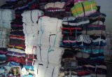 Coton blanc Rags de T-shirt utilisé par qualité de la meilleure qualité en coût d'usine compétitif