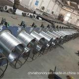 Alambre de acero galvanizado del lazo de alambre de atascamiento de alambre del soldado enrollado en el ejército del alambre del hierro del fabricante de China (18# 1.2m m)