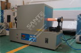horno de tubo de alta temperatura de Abrasivo artificial del vacío de 1600c Titable