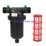 Tipo plástico macho do filtro de tela Y da irrigação da polegada do carro de combate médio 1-1/2 para o jardim da agricultura
