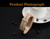 Ausgebautes Bluetooth 4.0 intelligentes Uhrenarmband mit Pedometer, Fernkamera, KalorieBurning und Kopfhörer