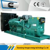 generador diesel de 700kw Cummins con la sincronización del panel