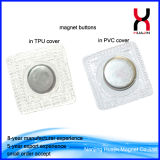 Washable кнопки спрятанные PVC магнитные D12*2mm