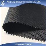 Polyester revêtu de polyester FDY Dobby Ripstop motif diamant Oxford tissu pour sac à dos, sac cosmetique