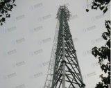 De gegalvaniseerde Tubulaire Toren van de Telecommunicatie van de Microgolf van het Staal
