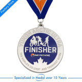 Promotional Custom helped marathon 13.1km sport run Award Medal