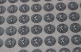Escritura de la etiqueta de la impresión del traspaso térmico del silicón del uso 3D de la camiseta