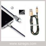 для Типа-C зарядного кабеля iPhone Android данным по джинсовой ткани мобильного телефона всеобщего