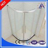 Caliente-vende sin marco de aluminio puertas de ducha / puertas de aluminio de la ducha