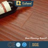 suelo del laminado de madera del roble E1 HDF de la nuez del vinilo de 12.3m m