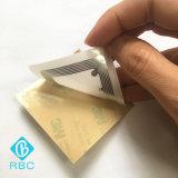 Großhandels-RFID Gewebe-Aufkleber-Rollenaufkleber für den Gleichlauf des Managements