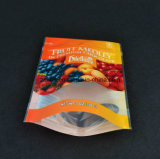 высокое качество мешка застежки -молнии печатание Transperant раговорного жанра 3 слоя прокатало чистосердечный полиэтиленовый пакет для пакета еды с полиэтиленовым пакетом застежки -молнии раговорного жанра