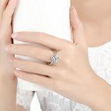 Coleção de Outono 925 Prata Esterlina Brilhante Amor Knot Weave Finger Moda Anel de jóias finas para mulheres anel de noivado