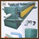 Color de acero abajo tubo y canal de agua Roll formando la máquina