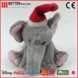 Natal, presente, peluches, peluches, brinquedo, elefante