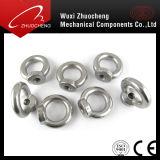 Pente galvanisée 4 d'acier du carbone 6 8 10 12 noix de levage d'oeil avec les boulons DIN582 DIN580