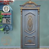 Antique Screen Bedroom Front Interior Portes en bois (GSP2-076)