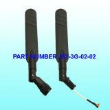 Antenna di gomma di GSM WiFi 3G, alta antenna di guadagno 5dBi 3G GSM