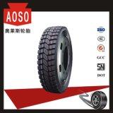 Neumático de frenado perfecto 9.00r20 del carro del efecto
