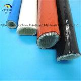 Manicotto resistente al fuoco protettivo del tubo flessibile idraulico rivestito di silicone