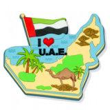 Magnete del frigorifero dei UAE personalizzato alta qualità all'ingrosso