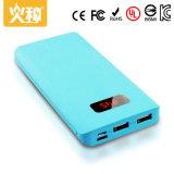 Cargador portable 10000mAh del color de la batería modificada para requisitos particulares D16 de la potencia y del teléfono móvil de la alta capacidad