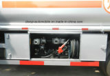 carro de petrolero del combustible de las aleaciones de aluminio del carro 15000L del transporte del petróleo 4X2