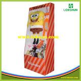 Стойка индикации Corrugated картона, стойка индикации коробки, бумажная стойка индикации