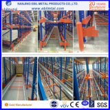 Ce / ISO - Passed Steel Radio Shuttle Racking High End Racking System