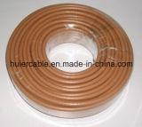 Cable coaxial caliente del cm Cmx 18AWG CCS RG6 de la venta del precio bajo (chaqueta de LSOH)