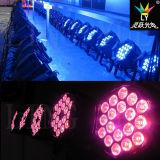 Innen18x18w RGBWA+UV DMX Stadiums-Beleuchtung LED NENNWERT Lampe