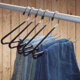 Folgas/ganchos resistentes das calças, cremalheira de toalha Non-Slip em aberto
