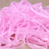 Los cabritos forman a TPU de alta resistencia colorido Hairbands elástico de goma (JE1591)