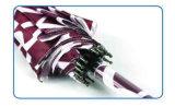 Water Ripple Print 16 côtelettes en satin automatique en satin (YS-SM23163901R)