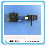Calentador del ventilador y interruptor rotatorio del horno