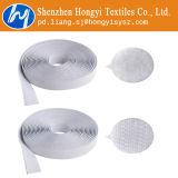 Bianco autoadesivo del Velcro del fermo resistente appiccicoso