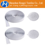 Branco autoadesivo de Velcro do prendedor resistente pegajoso