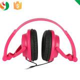 Auscultadores estereofónico dos Headbands Foldable da forma para o presente da promoção