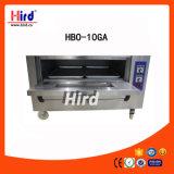 Cer-Bäckerei-Geräten-Lebesmittelanschaffung-Geräten-Küche-Geräten-Hotel-Geräten-Handels-Versicherung des Gas-Ofen-(HBO-10GA)