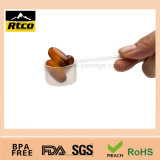 Sale quente RoHS Passed Expedient Plastic Coored Large Spoon 9cc