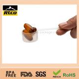 A venda quente RoHS passou a Coored plástico expediente a grande colher 9cc