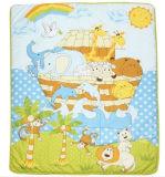 Baby UnisexのためのパッチワークBaby Quilt Patterns Green Animals