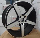 17X7.5, rueda del trabajo 17X10, rueda grande de la aleación del labio